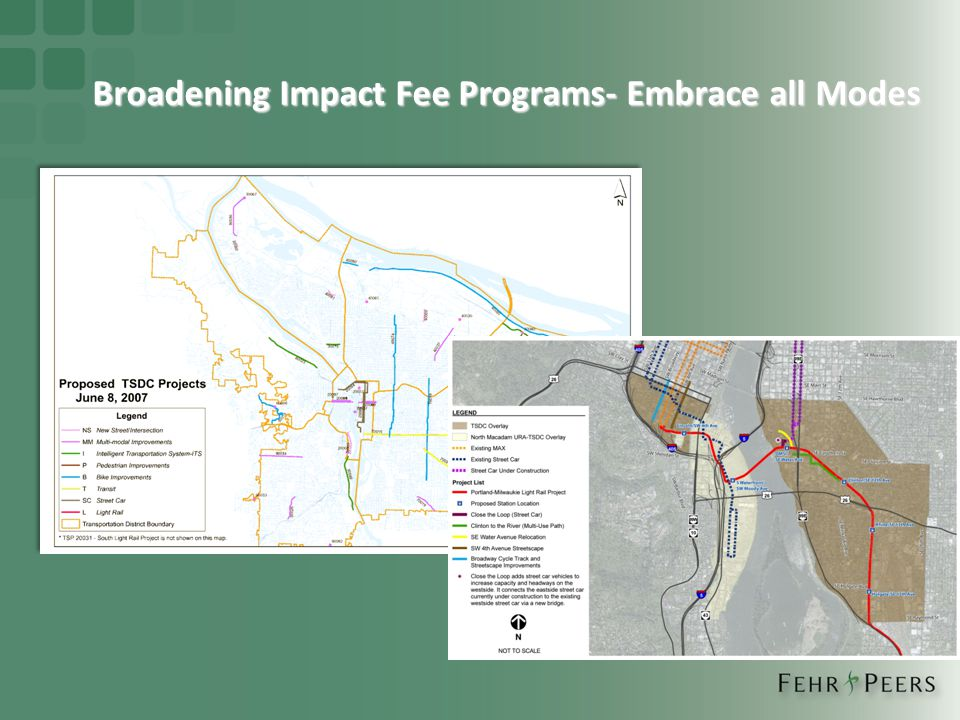 Broadening Impact Fee Programs- Embrace all Modes