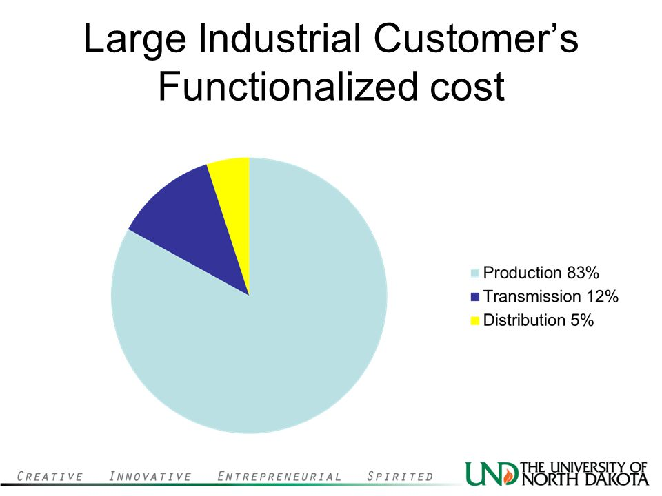 Large Industrial Customers Functionalized cost