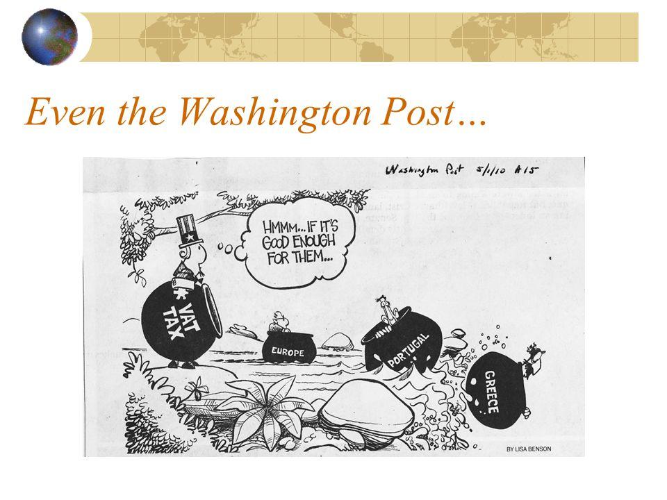 Even the Washington Post…