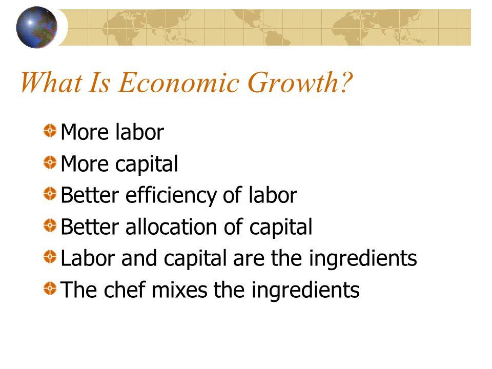 More Growth = More Revenue