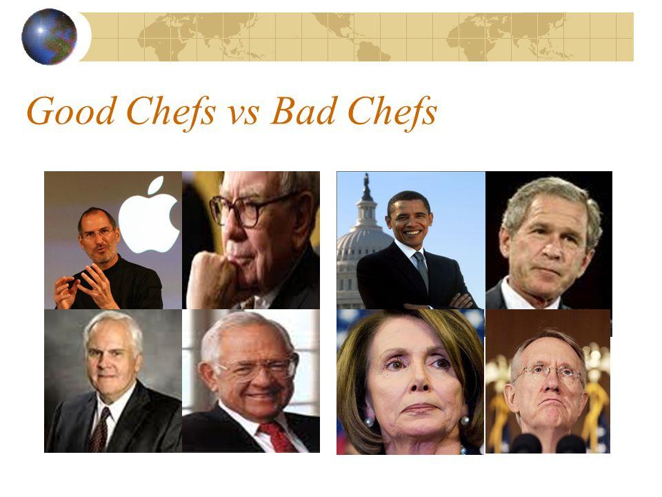 Good Chefs vs Bad Chefs