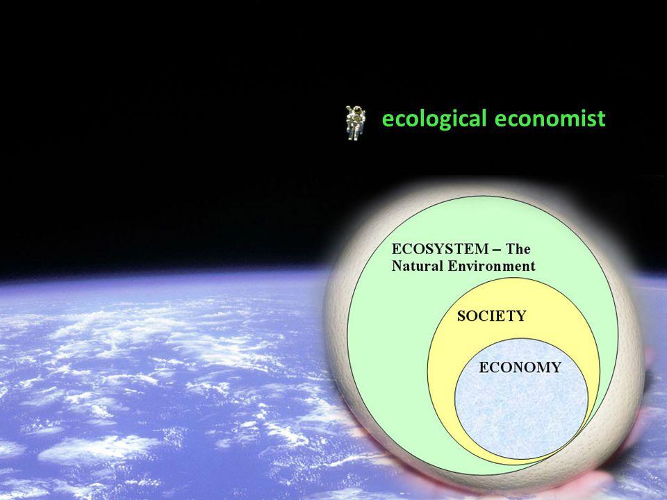 ecological economist
