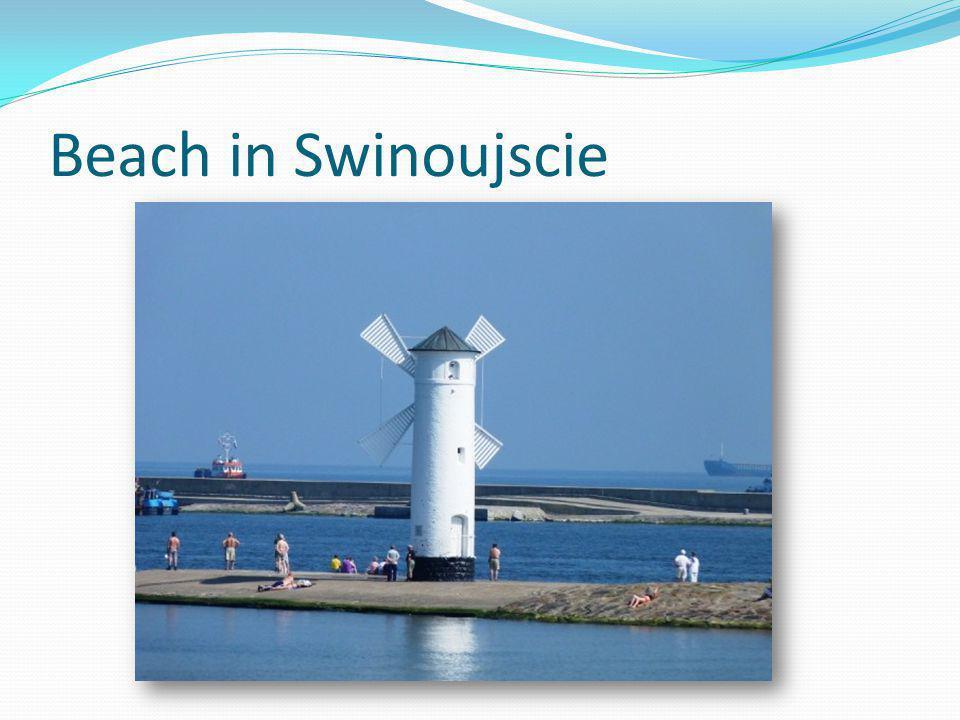 Beach in Swinoujscie