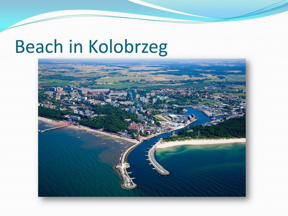 Beach in Kolobrzeg