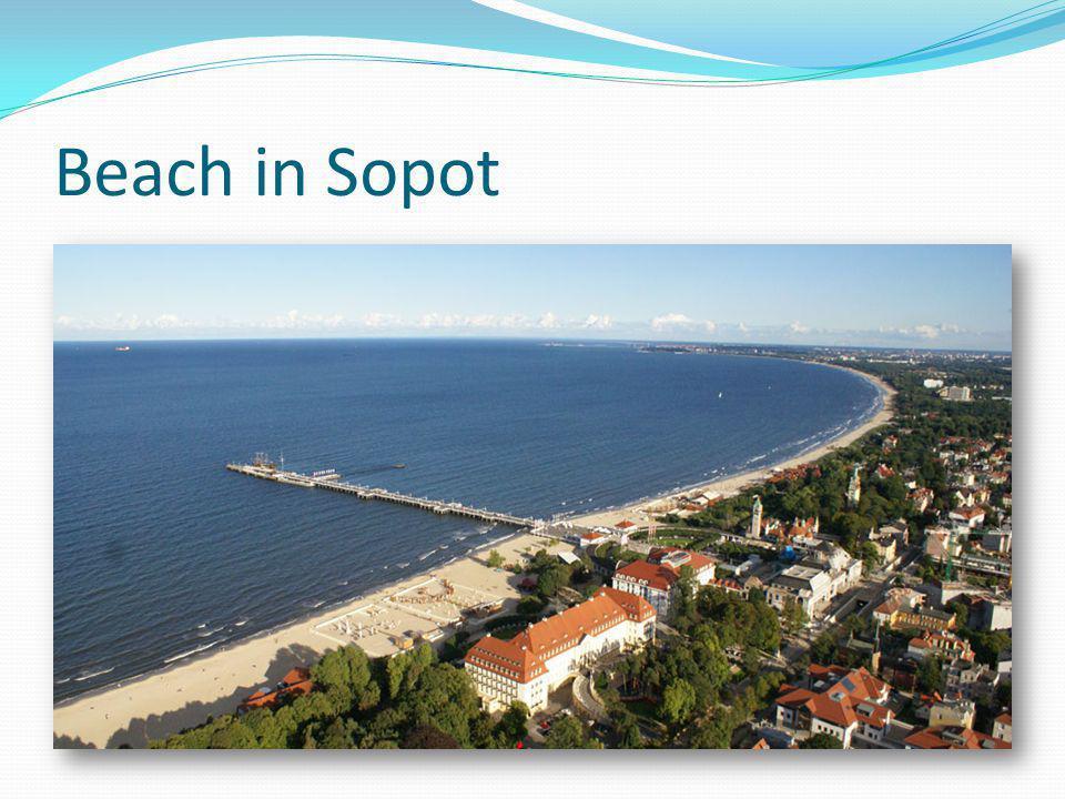 Beach in Sopot