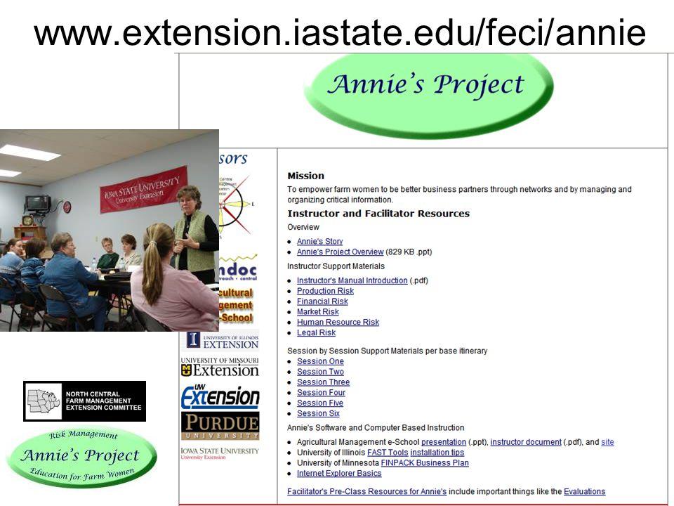 www.extension.iastate.edu/feci/annie