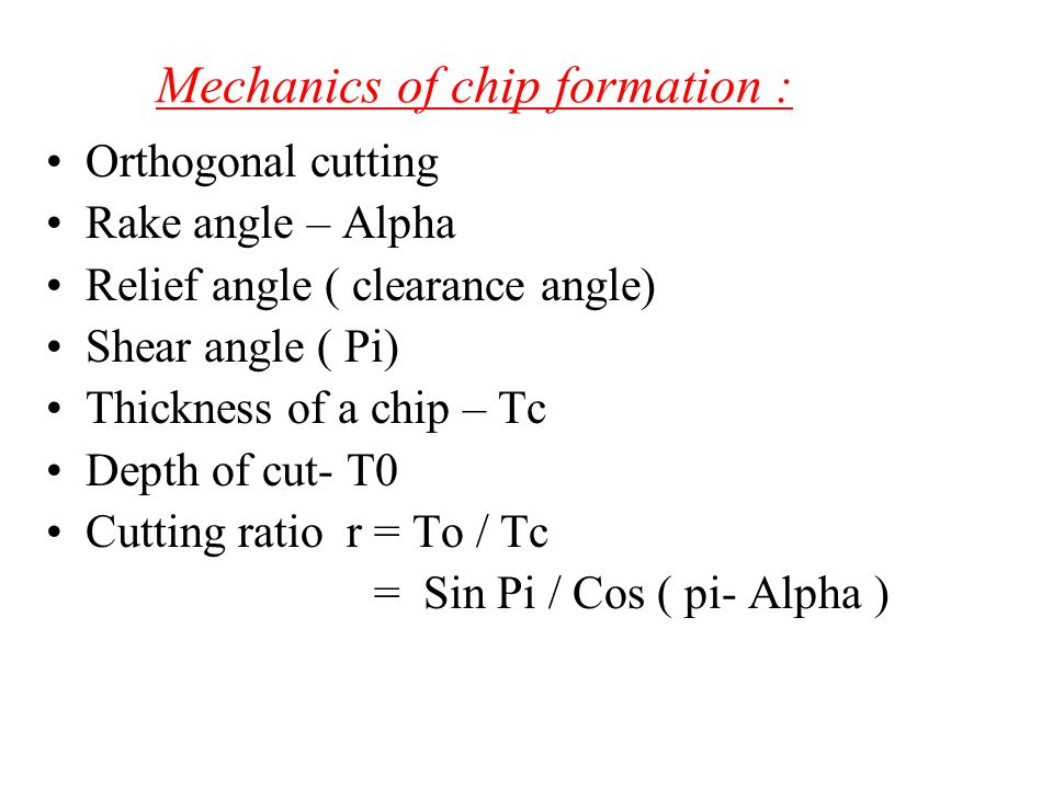Chip Breakers Long continuous chip are undesirable Chip breaker is a piece of metal clamped to the rake surface of the tool which bends the chip and breaks it Chips can also be broken by changing the tool geometry,thereby controlling the chip flow Fig 20.7 (a) Schematic illustration of the action of a chip breaker.(b) Chip breaker clamped on the rake of a cutting tool.