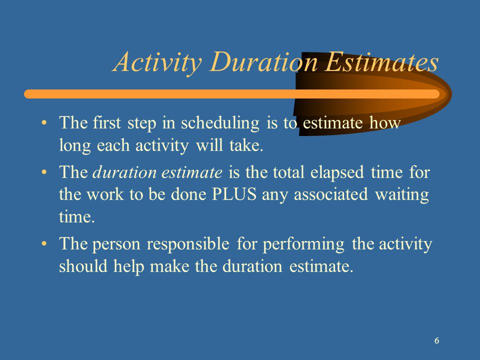 17 Free Slack The amount of time an activity can be delayed without delaying the start of other activities.