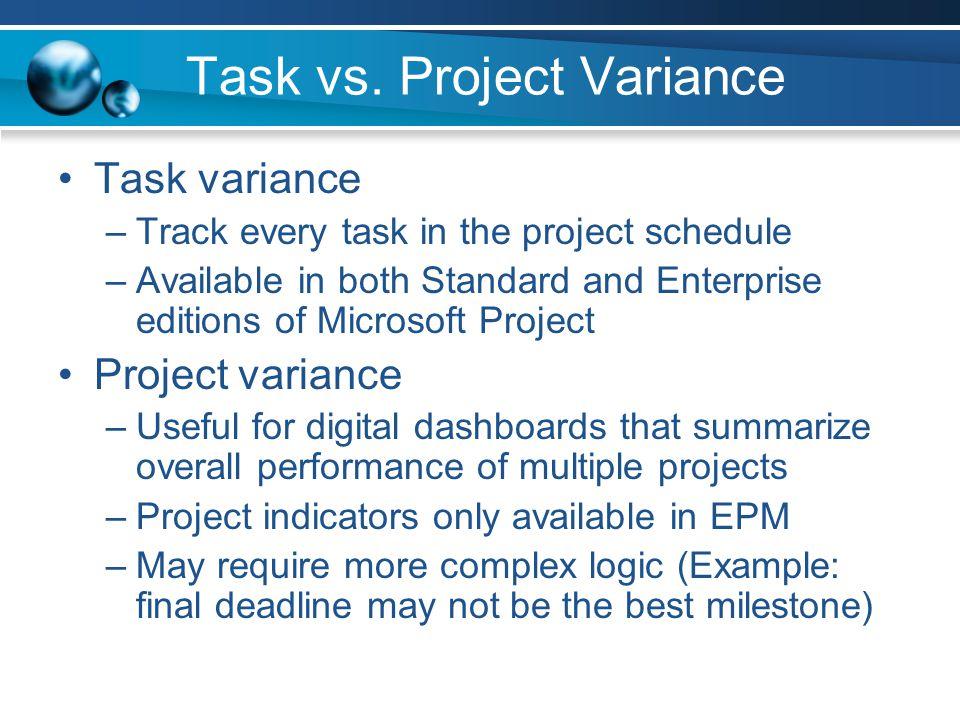 Task vs.