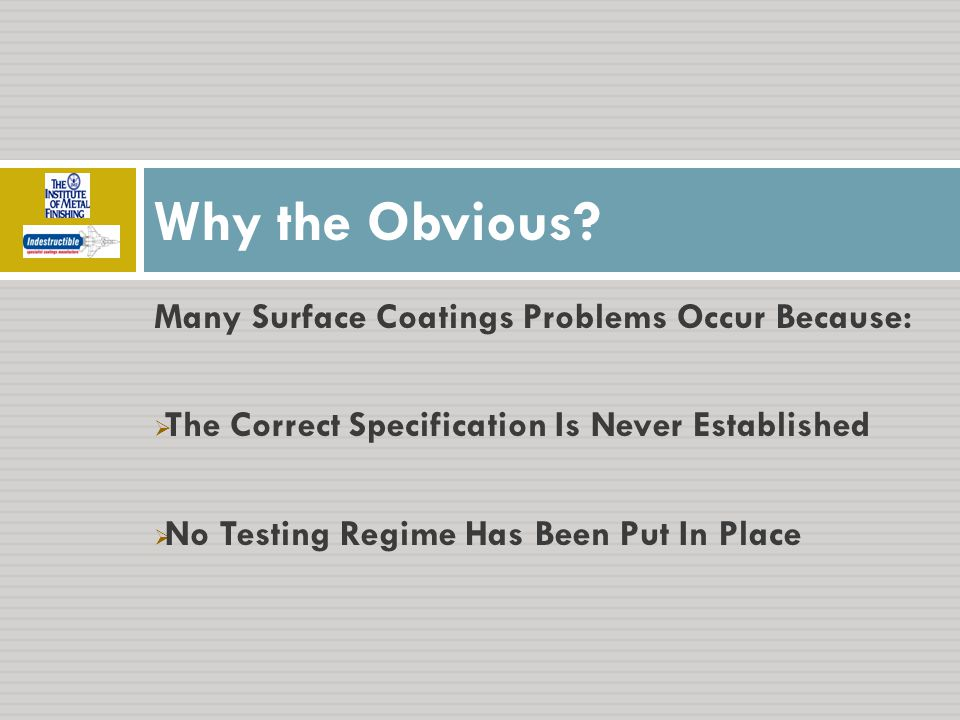 WHERE TESTING IS THE NORM Aerospace Industry