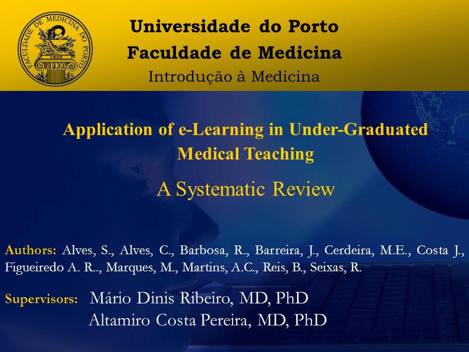 Universidade do Porto Faculdade de Medicina Introdução à Medicina Third Presentation