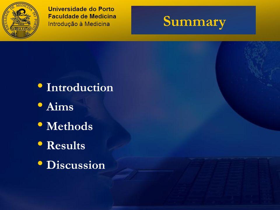 Articles selection Universidade do Porto Faculdade de Medicina Introdução à Medicina Methods