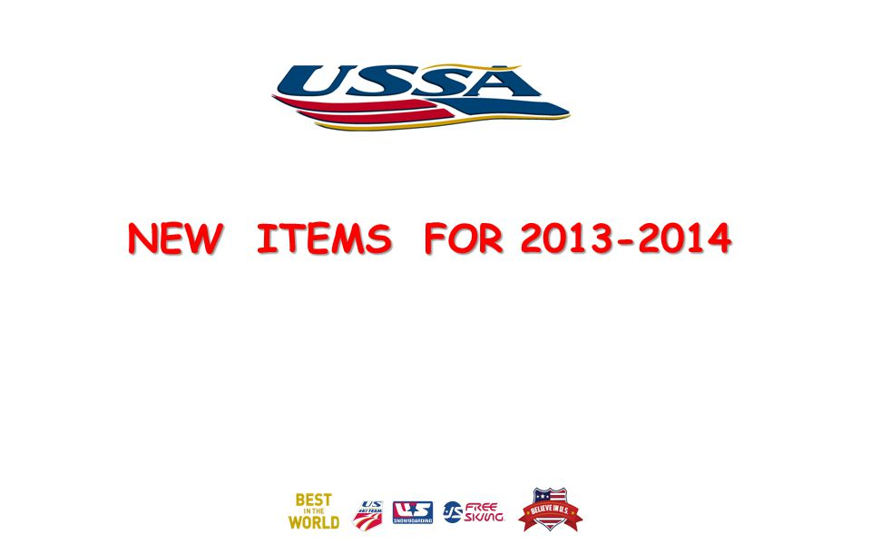 NEW ITEMS FOR 2013-2014