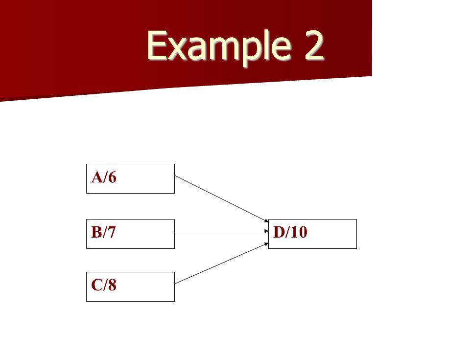 Example 2 A/6 B/7 C/8 D/10