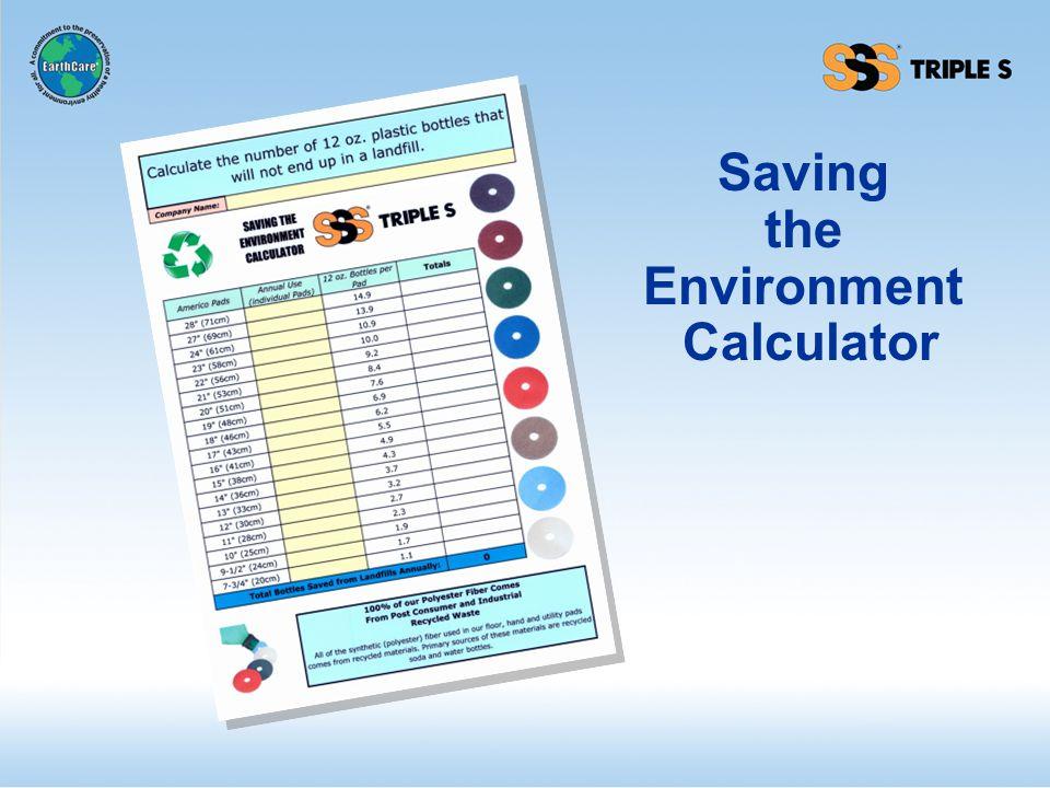 Saving the Environment Calculator