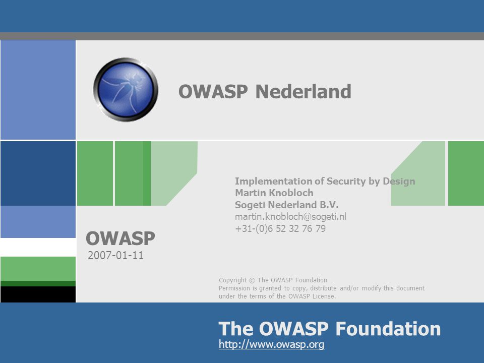 OWASP 2 Presentation Objectives What is….Awareness.