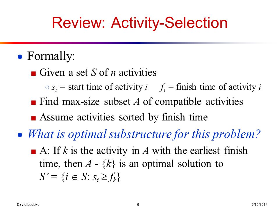 David Luebke 17 6/13/2014 Reduction The crux of NP-Completeness is reducibility Informally, a problem P can be reduced to another problem Q if any instance of P can be easily rephrased as an instance of Q, the solution to which provides a solution to the instance of P What do you suppose easily means.