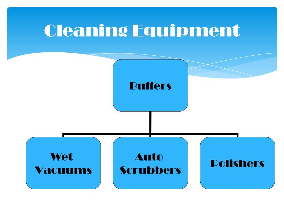 Buffers Wet Vacuums Auto Scrubbers Polishers Cleaning Equipment