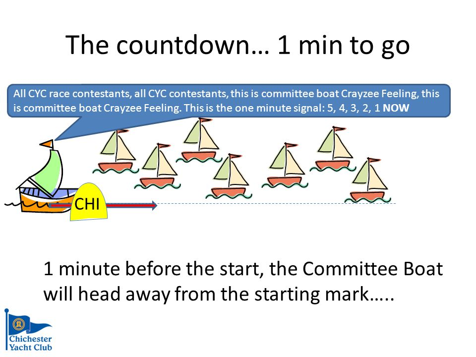 The Final Countdown… 5,4,3,2,1,GO!!.