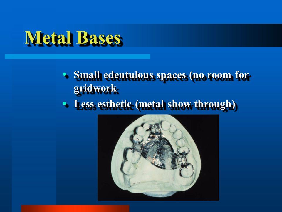 Beaded Metal Base