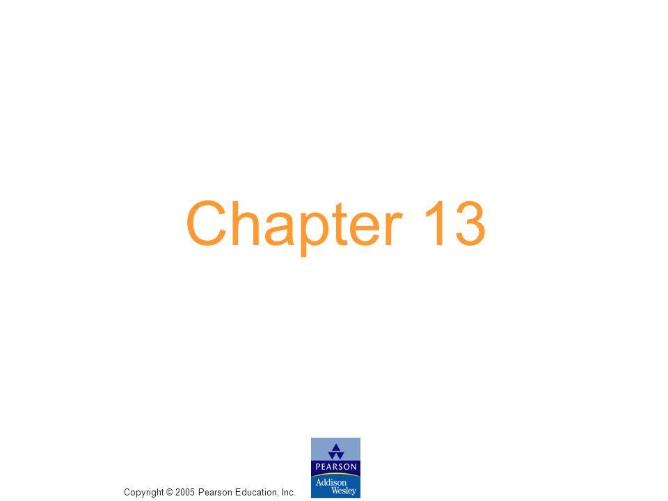 Copyright © 2005 Pearson Education, Inc. Slide 13-3 Bridges of Konigsberg 13-A