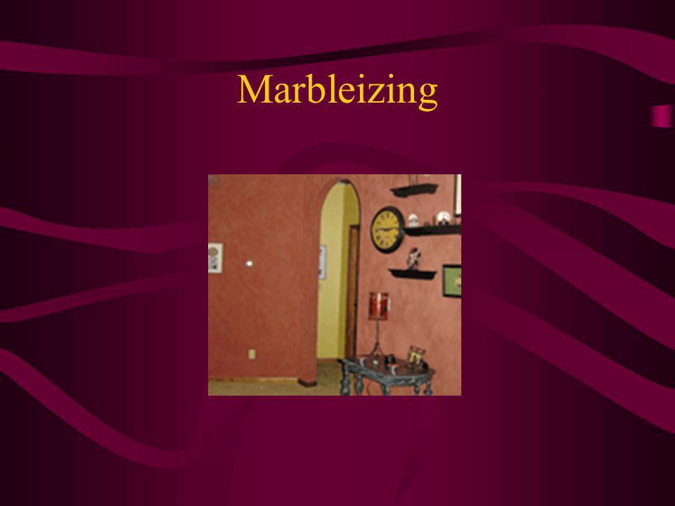 Marbleizing