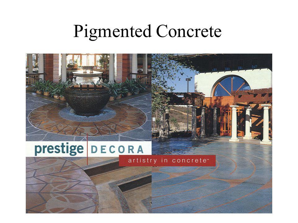 Pigmented Concrete