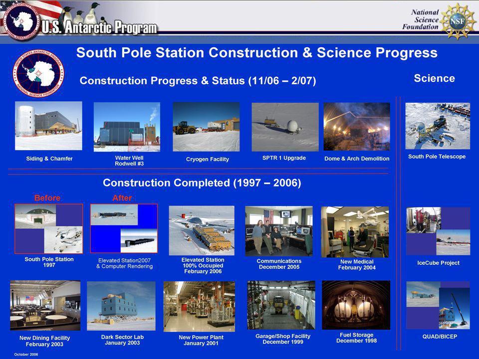 Ex. Pier SPSM – MREFC Status Update