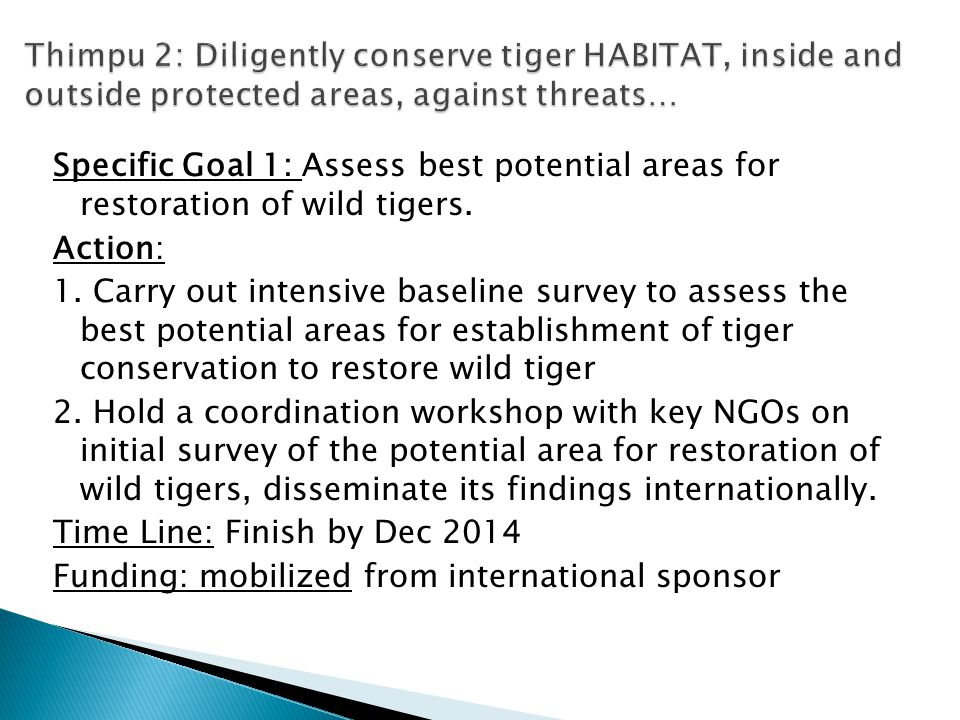 Specific Goal: Raise awareness of local communities and reduce hunting and dependence on forest resources.