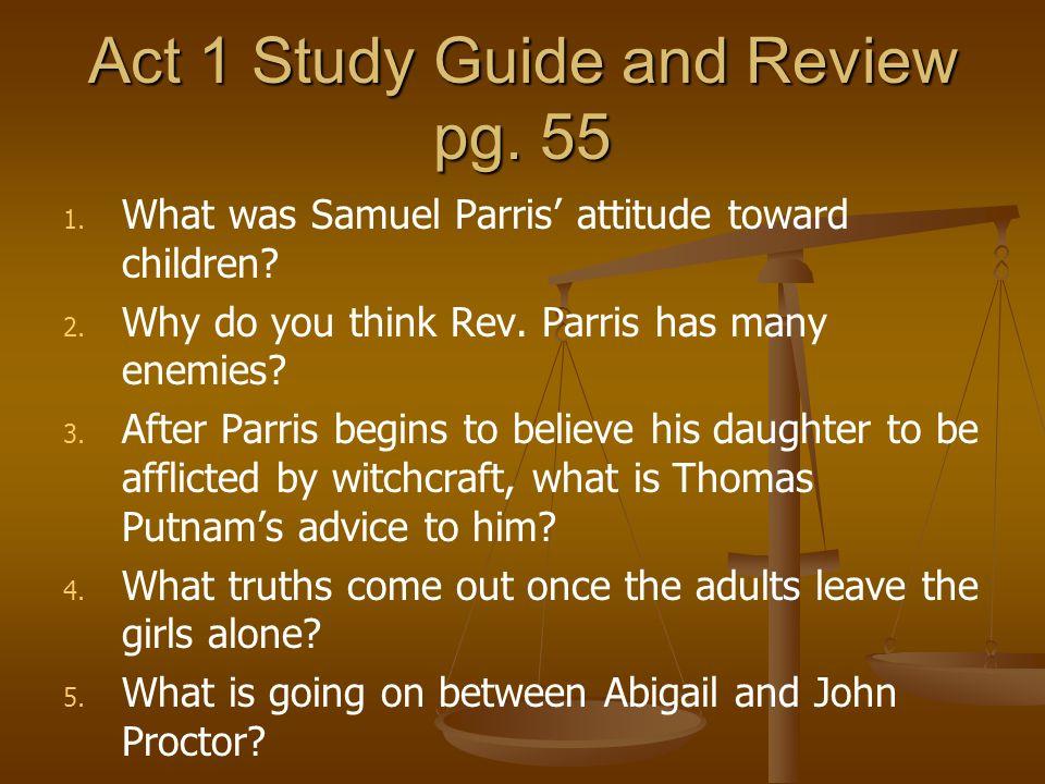 Post Reading Act II s.ii reflection pg.