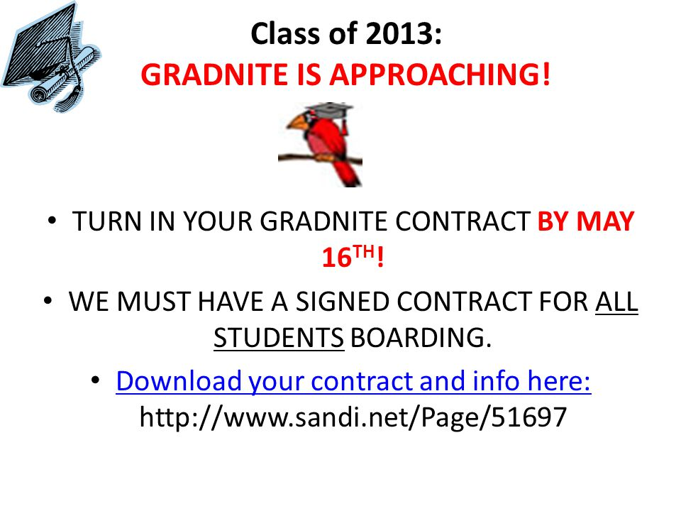 If you are the class of 2016, need to make up F and/or D grade(s) in English, math, science and/or social studies (core subjects) and procrastinate doing so until your senior year know that it will be too late to be a June 2016 graduate!!.