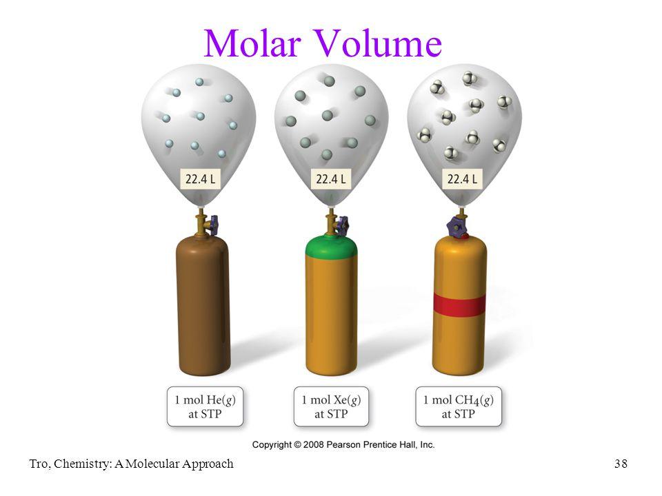 Tro, Chemistry: A Molecular Approach38 Molar Volume