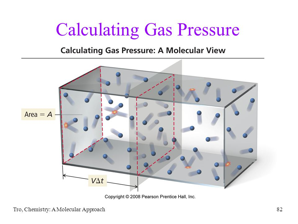 Tro, Chemistry: A Molecular Approach82 Calculating Gas Pressure