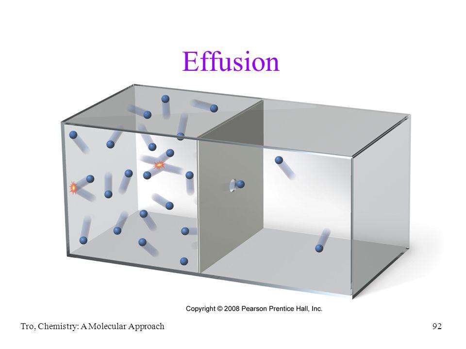 Tro, Chemistry: A Molecular Approach92 Effusion