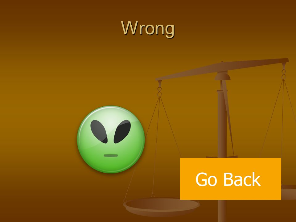 Wrong Go Back