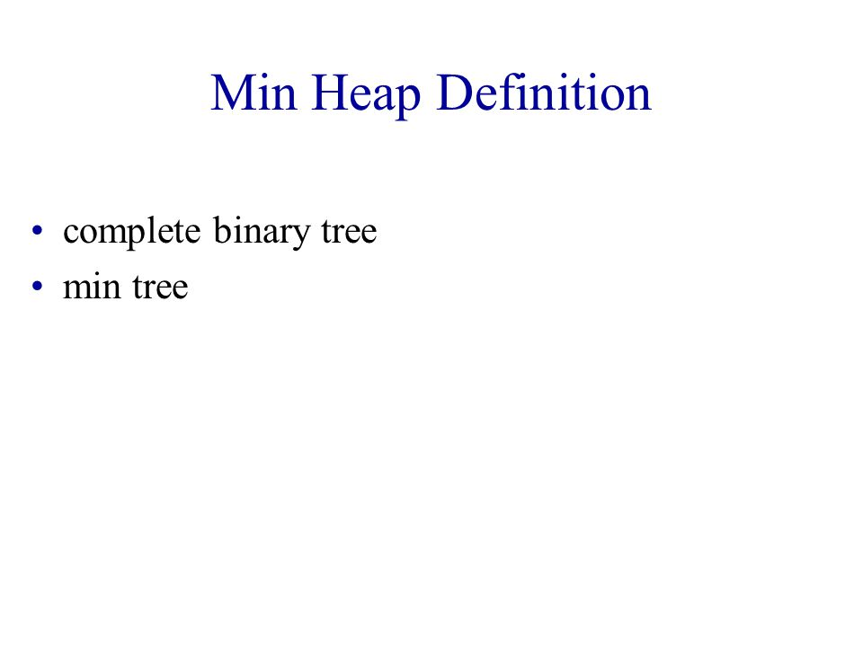 Max Tree Example 9 498 4 27 31 Root has maximum element.