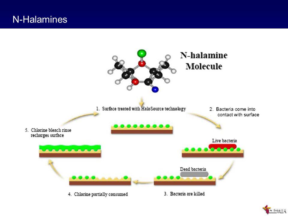 20 N-Halamines