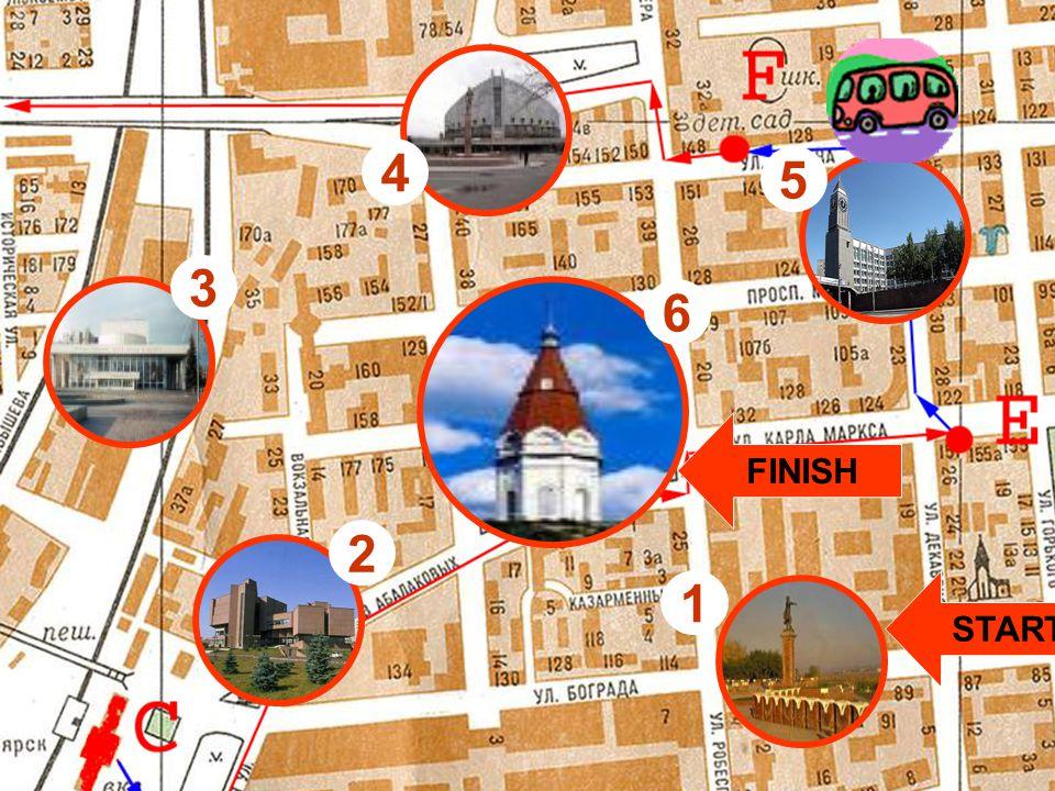 This is the historical centre of Krasnoyarsk.