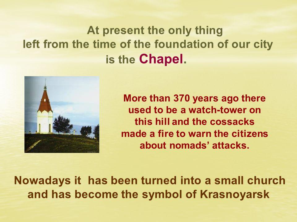 Who founded Krasnoyarsk ? Who founded Krasnoyarsk ? Peter the Great Andrey Dubenski y The Tsar 1
