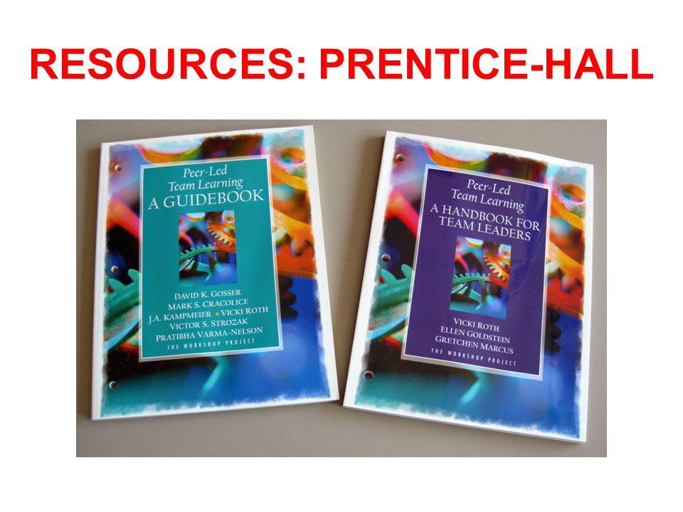 RESOURCES: PRENTICE-HALL
