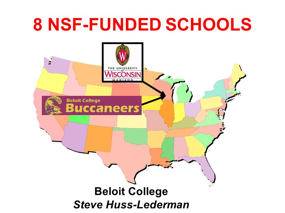 8 NSF-FUNDED SCHOOLS Duke University Susan Rodger