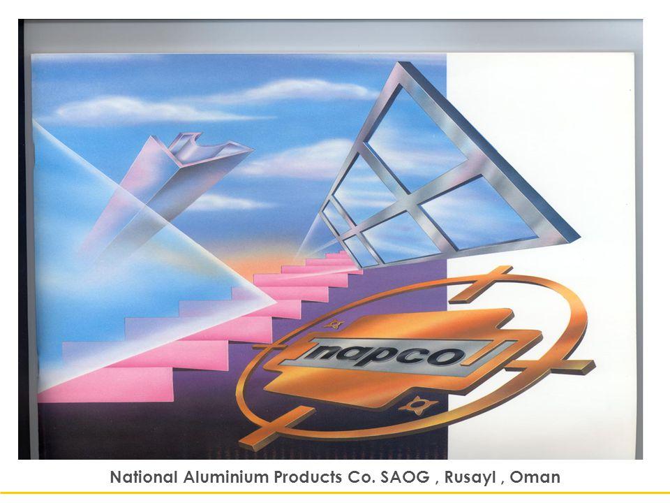 National Aluminium Products Co. SAOG, Rusayl, Oman