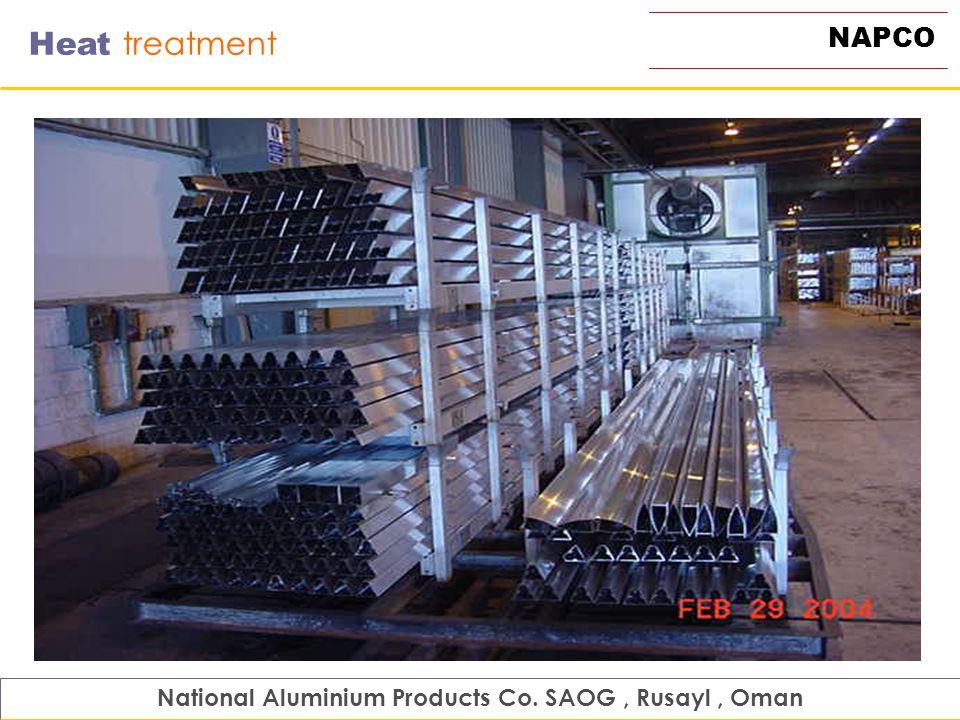 NAPCO Heat treatment National Aluminium Products Co. SAOG, Rusayl, Oman
