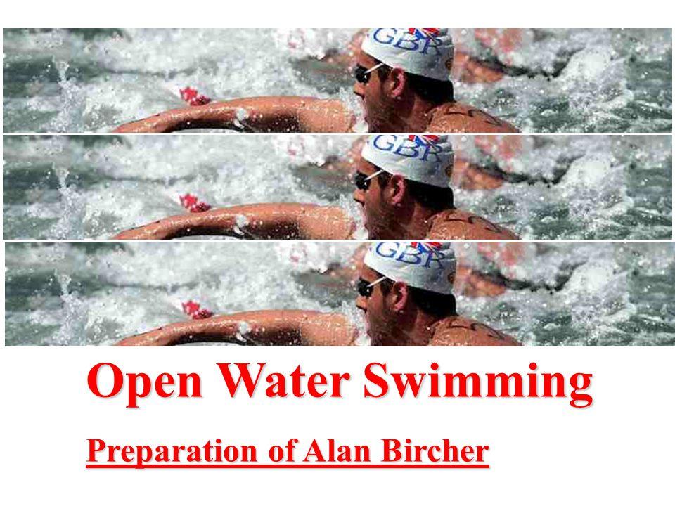 Race Tactics: Open water is very tactical.
