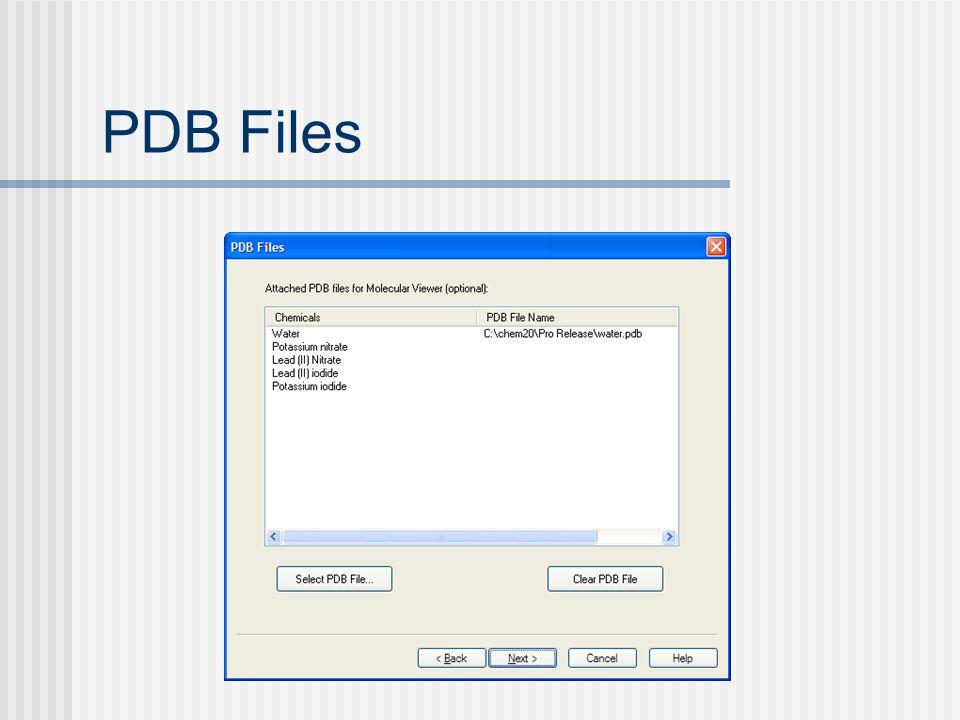PDB Files