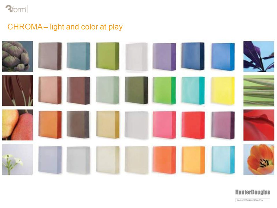 CHROMA – light and color at play