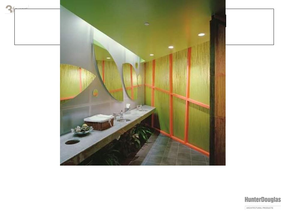varia installation: wall treatments