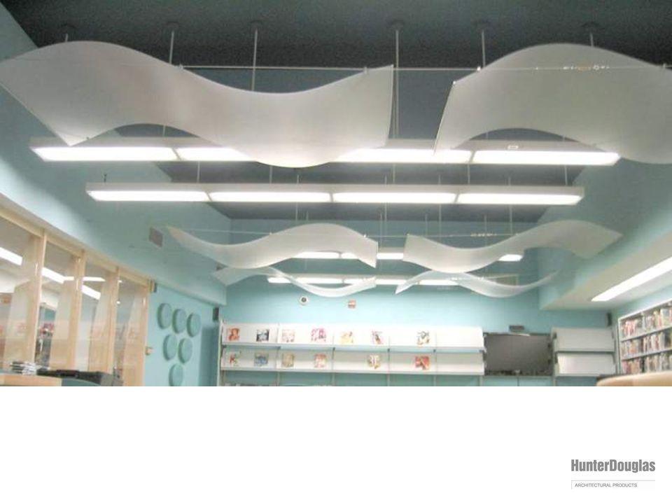 varia installation: decorative ceiling