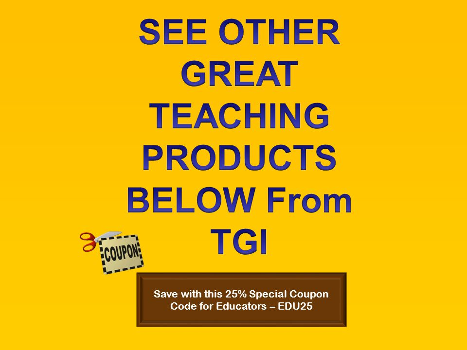 Save with this 25% Special Coupon Code for Educators – EDU25