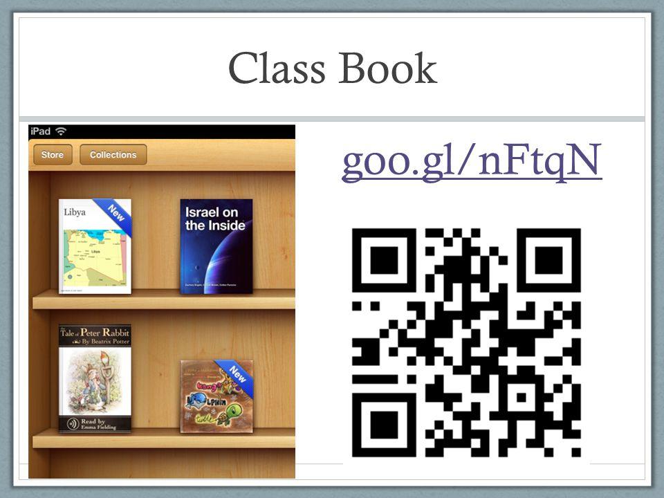 Class Book goo.gl/nFtqN